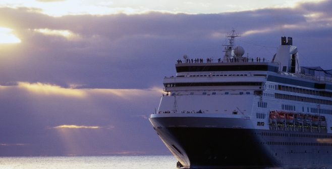 Image of a cruise ship