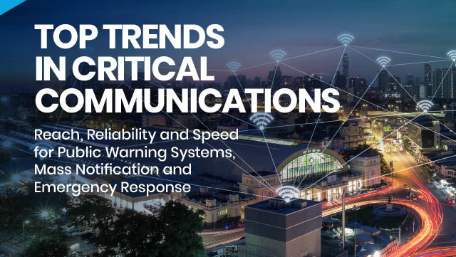 Featured image for Top Trends in Critical Communications eBook